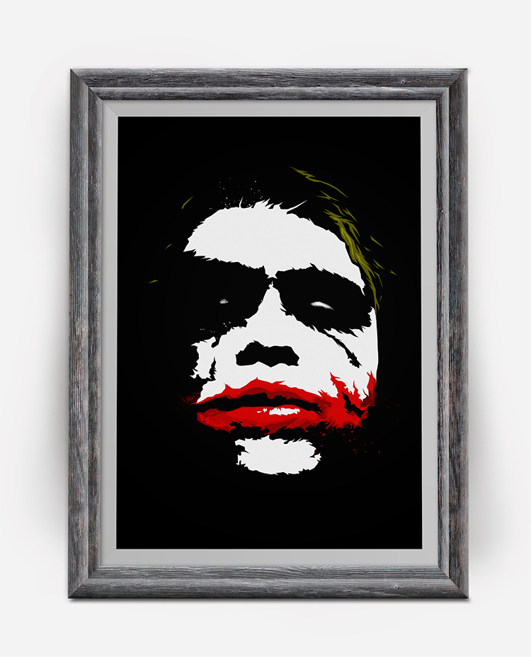 Why so serious Art Print