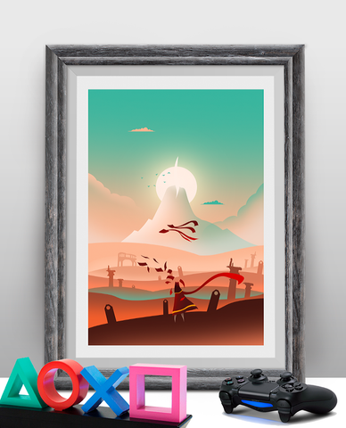 The Journey Gaming Poster