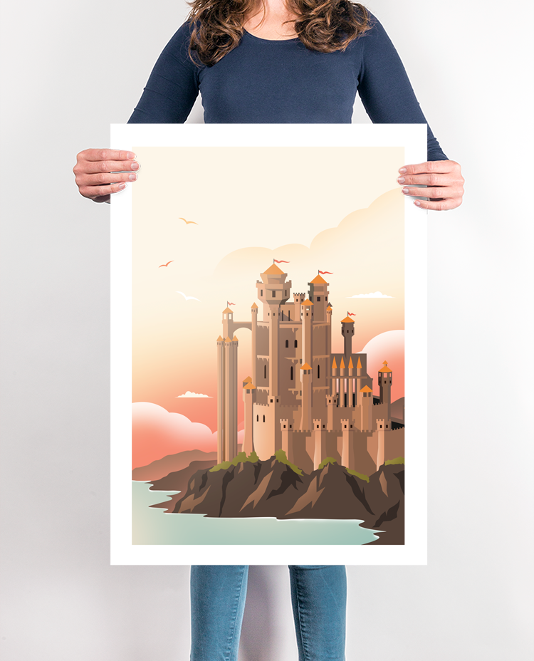 Kings Landing Travel Poster