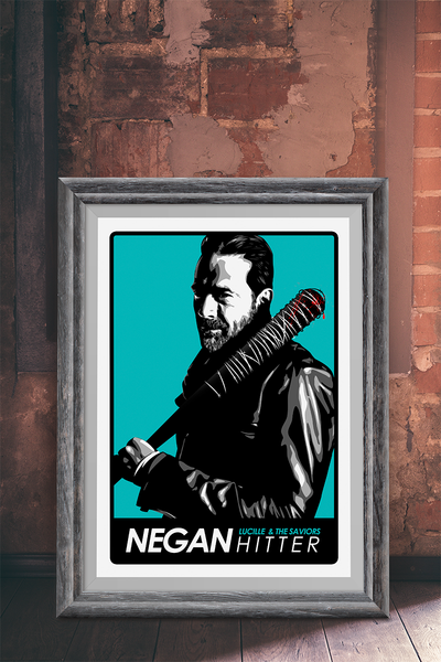 The Walking Dead Poster, Lucille Poster, Negan Print