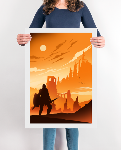 Praise The Sun Gaming Poster
