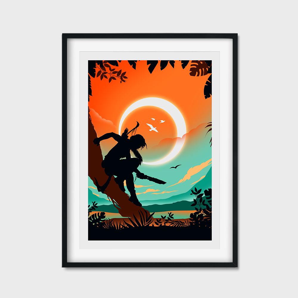 Lara Croft Game Poster