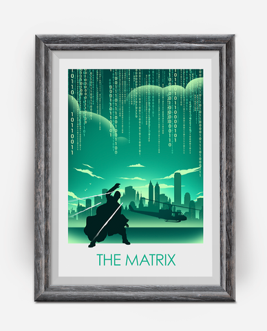 The Matrix Alternative Movie Poster