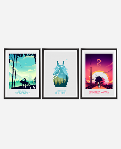 Studio Ghibli Poster Set - Money Saving Collection