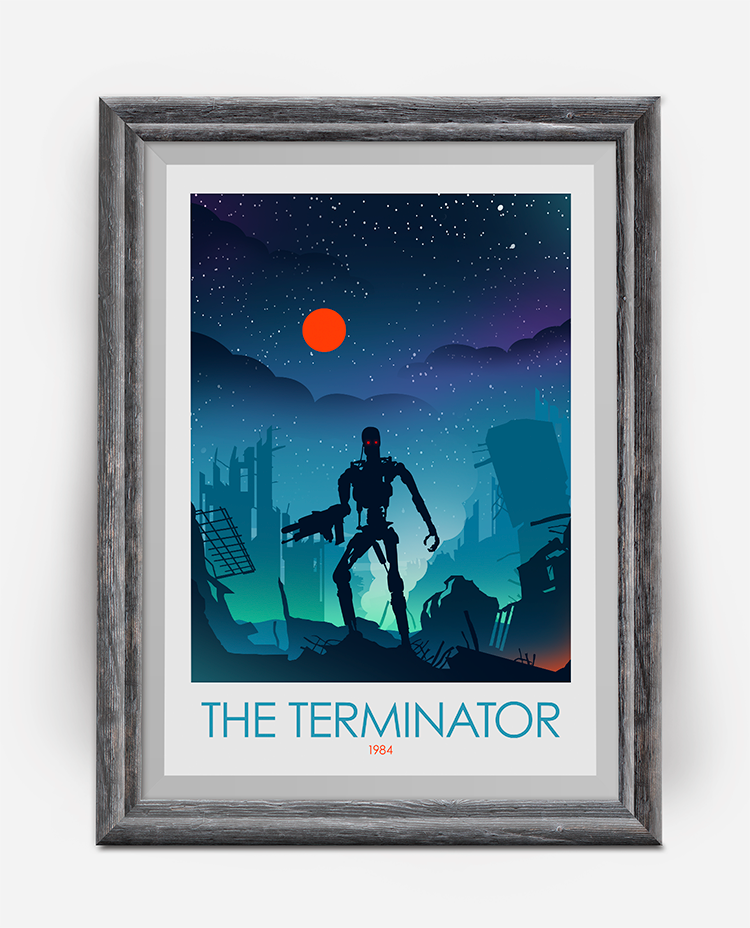 The Arnold Schwarzenegger Poster Collection Terminator Poster, Total Recall & Predator Movie Posters