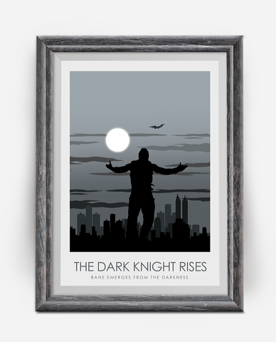The Dark Knight Rises Poster Print