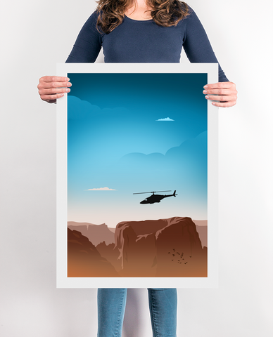 The AirWolf TV Poster