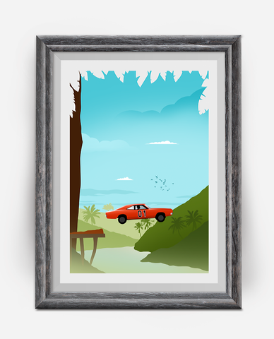 The General Lee TV Poster