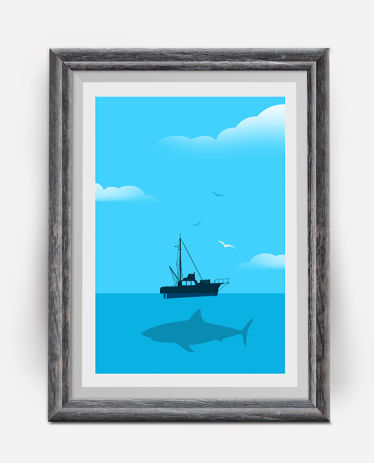 The Jaws Movie Poster