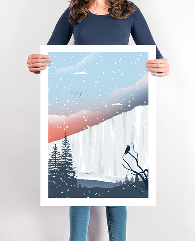 The Wall Travel Poster