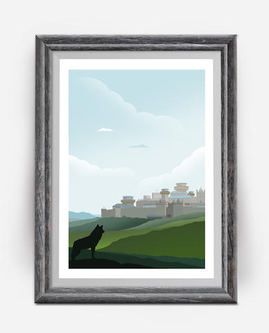 Winterfell Poster