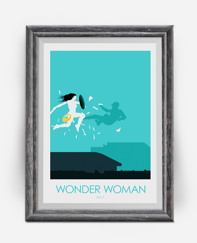 Wonder Woman 2017 Movie Poster