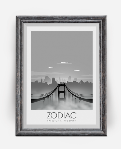 Zodiac Movie Poster Art Print