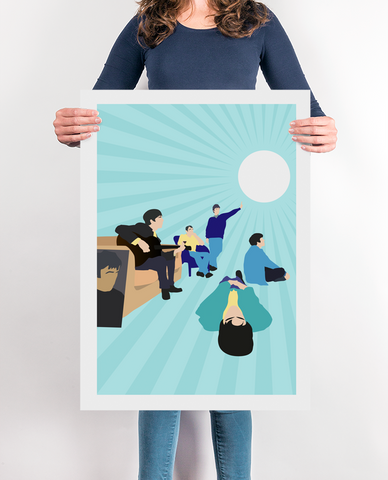 Definitely Maybe Music Poster