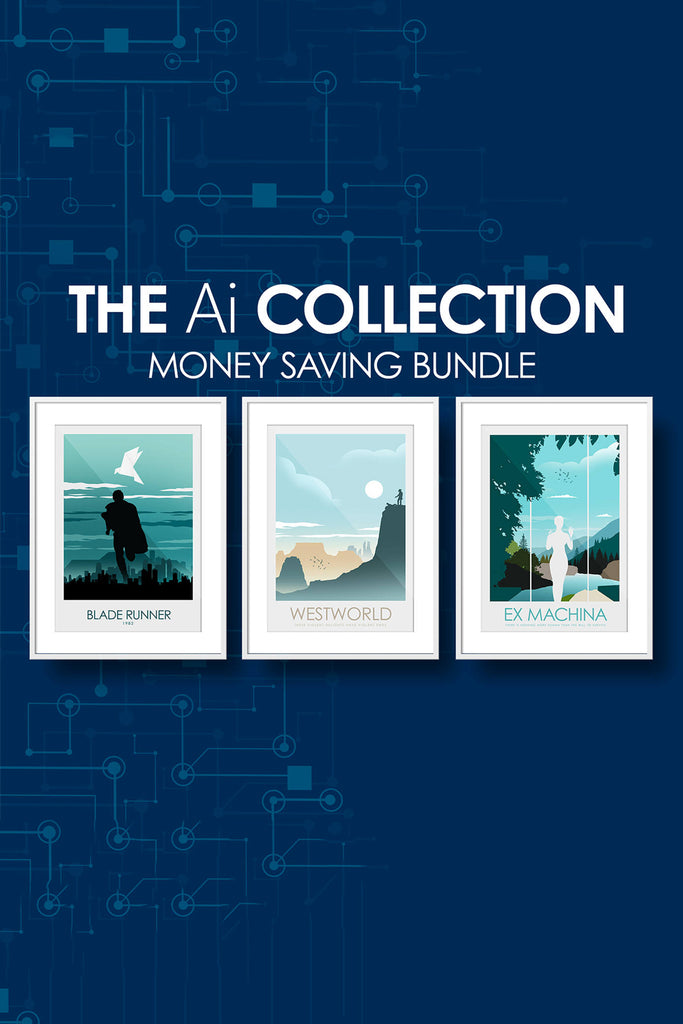 The Ai (Artificial Intelligence) Collection - Blade Runner, Westworld & Ex Machina - Money Saving Collection