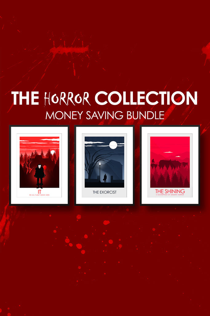 The HORROR Collection - Stephen King IT, The Exorcist & The Shining -  Money Saving Collection
