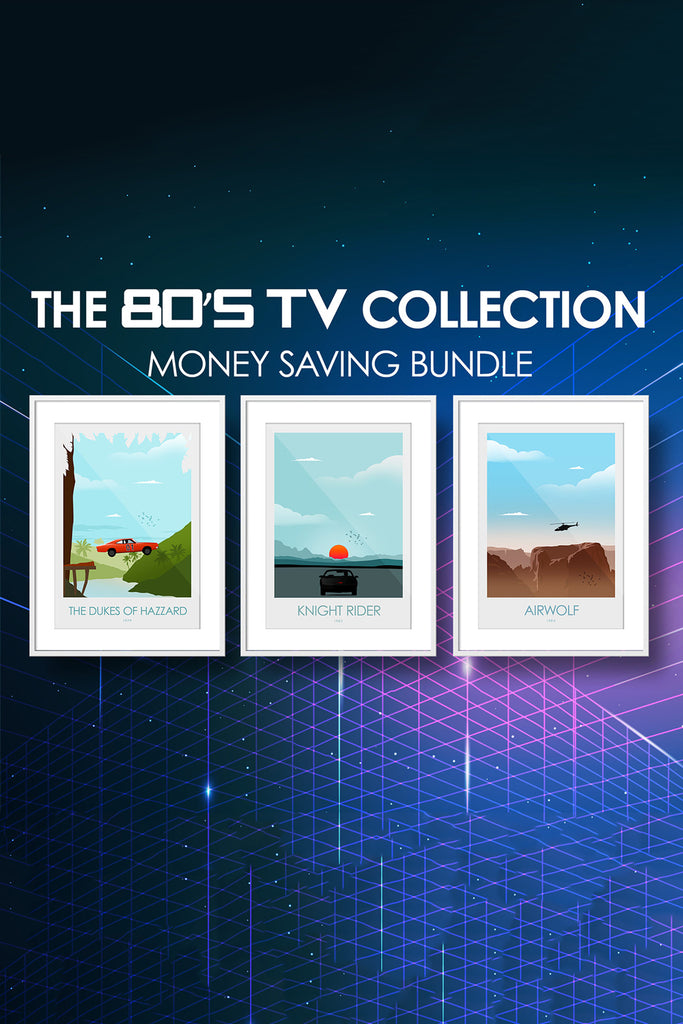 The 80's Collection - The Dukes of Hazzard, Knight Rider & Airwolf - Money Saving Collection