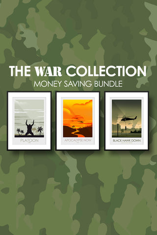 The WAR Collection - Platoon, Apocalypse Now & Black Hawk Down - Money Saving Collection