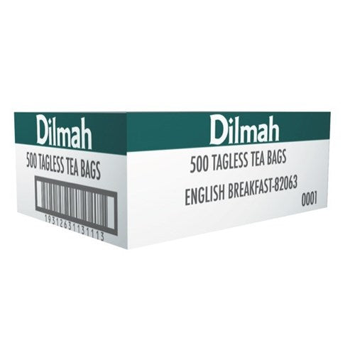 Dilmah English Breakfast Tagless Tea Bags 500s