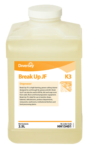 Diversey J-Fill Break Up Degreaser 2.5L
