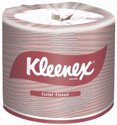 Kimberly Clark Kleenex 4735 White 2-Ply Wrapped Toilet Paper