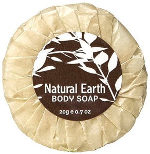 Healthpak Natural Earth Pleatwrapped Soap