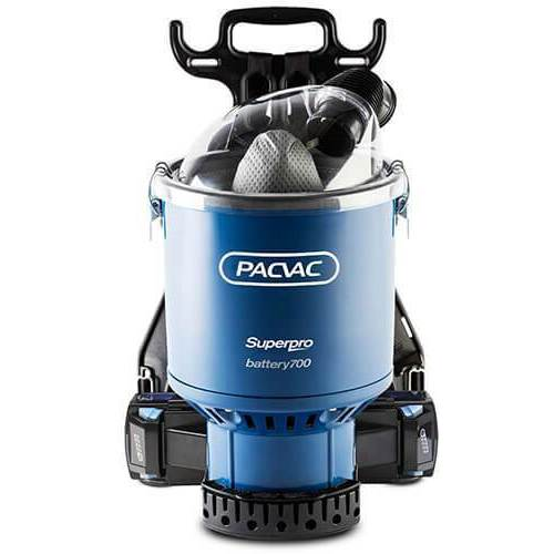 Pacvac Superpro Battery 700 Vacuum Cleaner