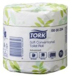 Tork 234 T4 White 2-Ply Toilet Roll