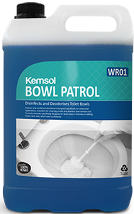 Kemsol Bowl Patrol Toilet Cleaner