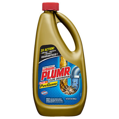 Liquid Plumr Full Clog Destroyer 946ml