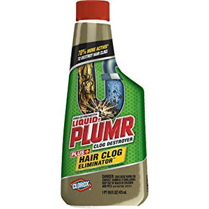 Liquid Plumr Hair Clog Eliminator 473ml