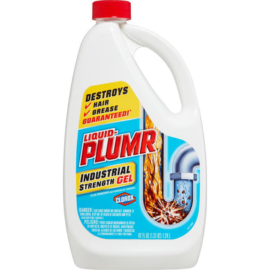 Liquid Plumr Industrial Strength Gel 1.24L