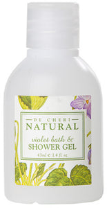 Healthpak De-Cheri Natural Bath & Shower Gel Bottles