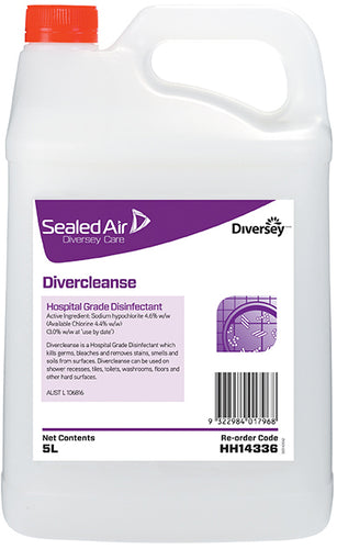 Diversey Divercleanse Disinfectant Bleach