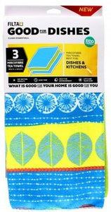 Microfibre Kitchen Tea Towels 3s