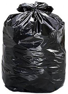 120L Black Rubbish Bags - S3030