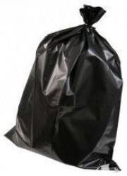 60L Standard Black Rubbish Bags - S3153