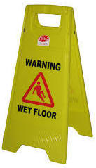 A-Frame Floor Safety Signs