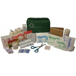 First Aid Kit FAK015 Industrial 1-5 Person In Green Bag