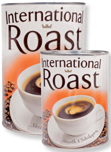 International Roast Powdered Coffee Tin