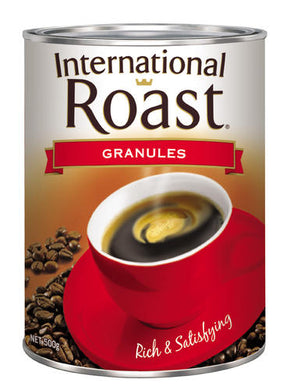International Roast Granulated Coffee Tin