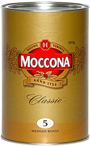 Moccona Freeze Dried Classic Medium Roast Coffee Tin