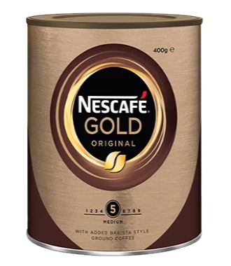 Nescafe Gold Blend Granulated Coffee Tin