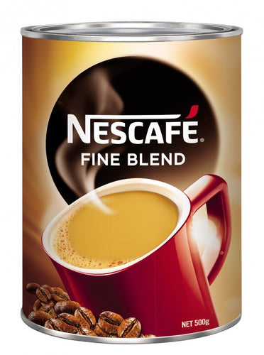 Nescafe Fine Blend Coffee Tin