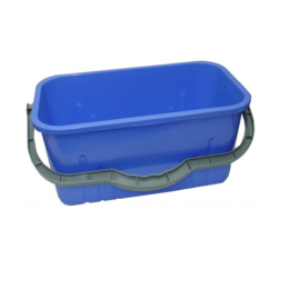 Browns Quad Plastic Bucket 12L