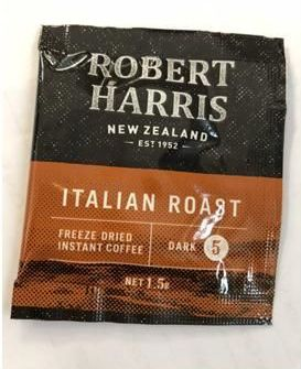 Robert Harris Italian Roast Coffee Sachets