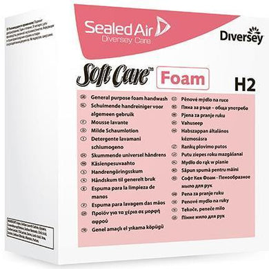 Diversey Softcare H2 Mild Foaming Hand Wash
