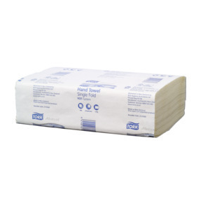 Tork 2170360 Interfold H31 White 1-Ply Paper Towel