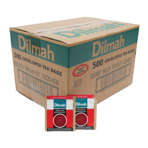 Dilmah English Breakfast Enveloped Tea Bags 500s