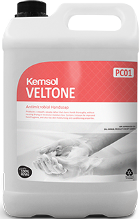 Kemsol Veltone Non-Fragranced Liquid Hand Soap
